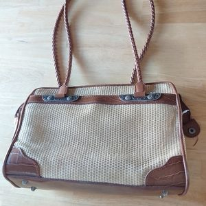 Bueno shoulder bag braided dbl straps